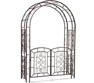 Plow & Hearth Madison Arbor with Gate - M52336