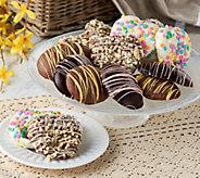 Landies Candies 18 Piece Easter Basket Chocolate Pretzel Assort. - M54536
