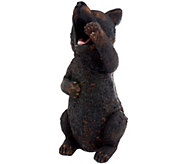 Plow & Hearth Outdoor/Indoor Yawning Animal Garden Statue - M44437