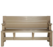 Convert-A-Bench Basic Color Outdoor 2-in-1 Bench-to-Table w/5 Year LMW - M48537