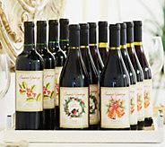 Ships 12/7 Vintage Wine Estates 12-Bottle Holiday Wines - M48737
