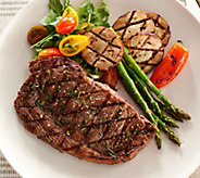 Rastelli Market Fresh (8) 8 oz. Black Angus Ribeye Steaks - M50737