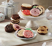 Ships 12/5 Cheryls 24 Piece Holiday Frosted Cookie Assort. - M52437