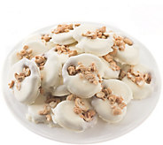 Landies Candies 18 piece White Candy Cashew Butter Pretzels - M115238