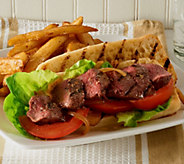 Kansas City (14) 4 oz. Choice of Sirloin Steaks 3 lb SteakFries - M47838