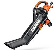 Worx Trivac Blower Vacuum & Mulcher with 2 Leaf Bags - M50938