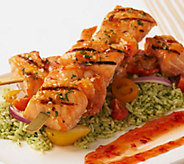 Egg Harbor (8) 6 oz. Faroe Island Salmon and Shrimp Kabobs - M50839
