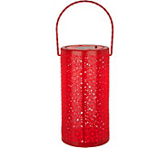 Plow & Hearth Solar Ceramic Hanging Lantern - M52339