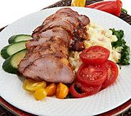 SH3/26 Corkys BBQ (4) 1.5-lb Seasoned Pork Tenderloins & 2-lb Side Dish - M58639
