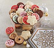 Ships 11/1 Cheryls Joy of the Season Gift Tin- 24 Cookies - M115940