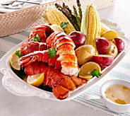 Greenhead Lobster (16) 5-6 oz. Lobster Tails & 1 lb. of Butter - M53440
