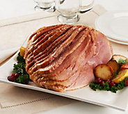 SH 12/4 Smithfield 8-9 lbs. Brown Sugar Ham with Glaze Packs - M55140