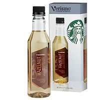 Starbucks Verismo Hazelnut Syrup Bottle with Pump - 6 Bottles
