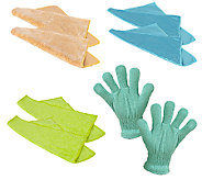 Casabella Microfiber Cleaning Cloth and WindowBlind Glove Set - M115041