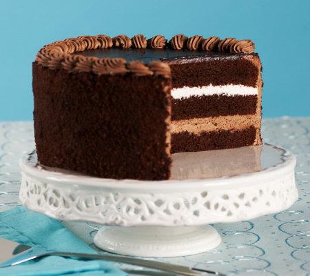 Juniors Chocolate Mousse Cake