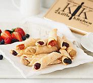 The Kiffle Kitchen (30) .70 oz. Homemade Kiffle Pastry Asst. - M46741