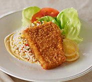 Perfect Gourmet (10) 3.4 oz. Dijon Encrusted Tilapia - M48041