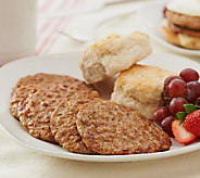 Smithfield (32) Count 2 oz Fully Cooked Original Sausage Patties - M48441