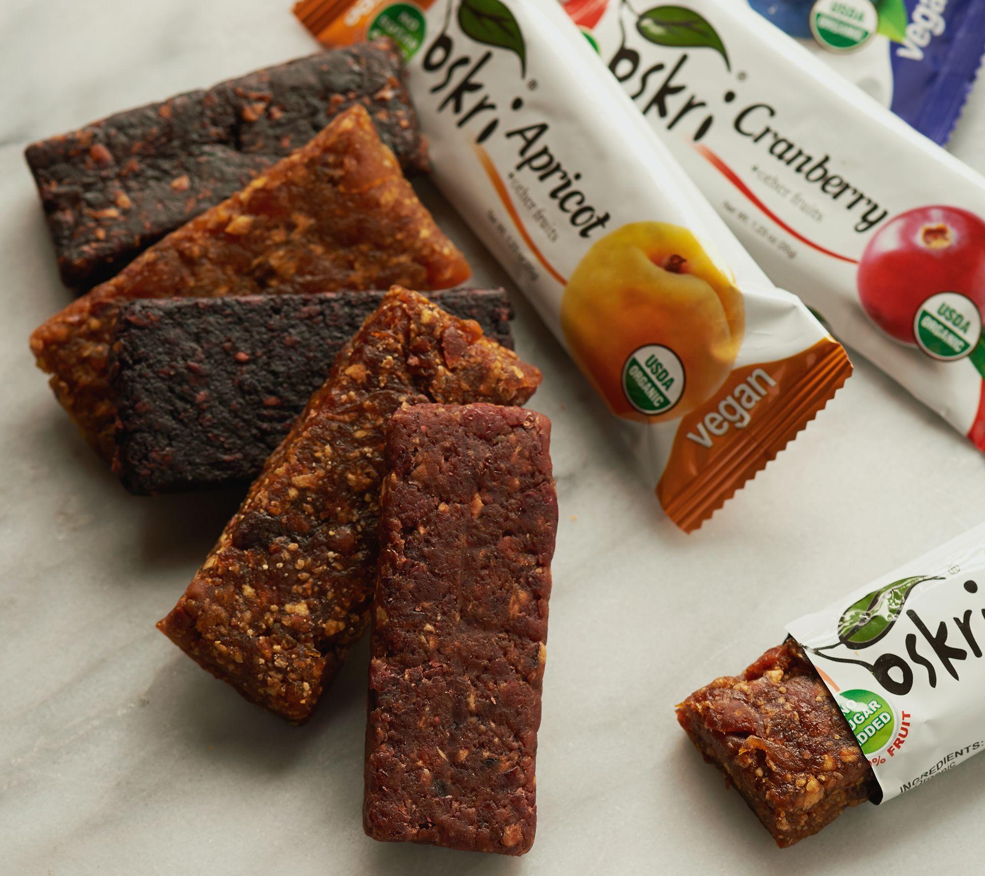 oskri 25 1 23 oz 100 fruit bar variety pack page 1 u2014 qvc com