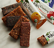Oskri (25) 1.23 oz 100Fruit Bar Variety Pack - M53741