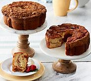 My Grandmas (2) 28 oz. Apple Raspberry &Banana Coconut Coffee Cakes - M55641