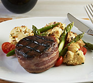 Kansas City (4) 6 oz Hickory Smoked Bacon Wrapped Filet Mignon - M56041