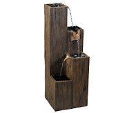 Kenroy Home Timber Indoor/Outdoor Floor Fountain - M110642