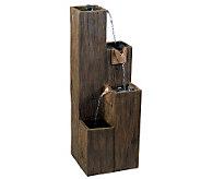 Kenroy Home Timber Indoor/Outdoor Floor Fountain - M110642