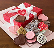 Cheryls Valentine Truffle, Cookie, and Brownie Gift Box - M115142