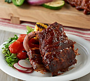 Corkys BBQ (3) 2 lb. Baby Back Ribs with Corkys Sauce - M55642