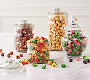 The Popcorn Factory (8) 8-oz Bags of Gourmet Spring Popcorn - M57742
