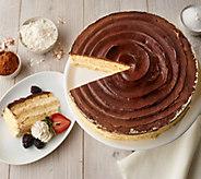 Juniors 5-lb Boston Cream Pie Layer Cake - M56843