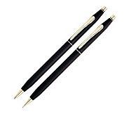 Classic Century Black Ballpoint Pen & 0.5mm Pencil Set - M111244