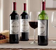 Vintage Wine Estates Kevin OLeary Reserve 3-Bottle Set - M49644