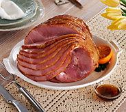 Kansas City Steak Company 7.25-8.5 lb. Sliced Ham - M53544