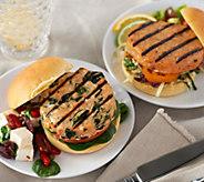 Graham & Rollins (10) 3.5 oz. Gourmet Salmon Burgers - M53844