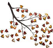 Plow & Hearth Falling Leaves Wall Art - M54444