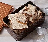 SH 10/2 Enstroms 2 lb Milk or Dark Choc Almond Toffee in Tin - M55044