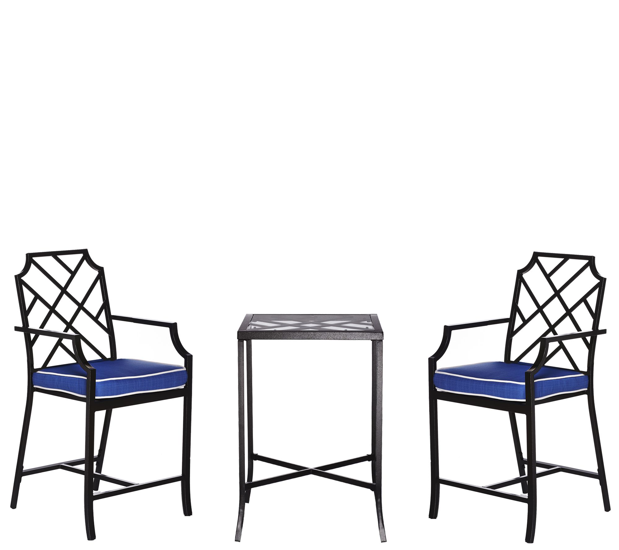 Ships 3/21 Scott Living 3-Pc, High Top Bistro Patio Set