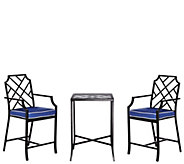 Scott Living 3-piece High Top Bistro Patio Set - M48545