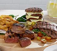 Kansas City 8 lb. Burgers, Sirloin Steaks & Fries Combo Auto-Delivery - M52045