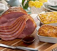 Kansas City 7.25 - 8.5 lb. Spiral Ham with (2) 2 lb. St. Clair Sides - M53545
