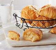 Ships 4/3 Authentic Gourmet 25 French Made Croissants - M54545