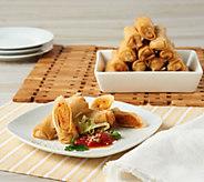 Davios (60) 1 oz. Mac & Cheese or Chicken Parm Spring Rolls - M54945