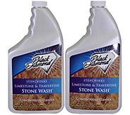 Black Diamond Limestone & Travertine Stone Wash - M110046