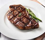Rastelli Market Black Angus Bone-In NY Strip Steaks 4/12 oz - M115446