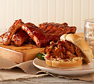 Corkys BBQ 4 lbs Baby Back Ribs & Choice of 2lbs Sausage or Pulled Pork - M47046