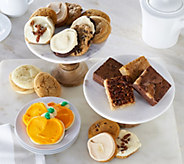 Cheryls 30 Piece Fall Cookie and Brownie Auto-Delivery - M52446