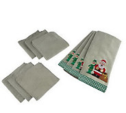 Don Asletts Microfiber Kitchen Towel and ClothSet - 10-Pc - M113547