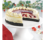 Juniors White Chocolate Raspberry Cheesecake - M115647